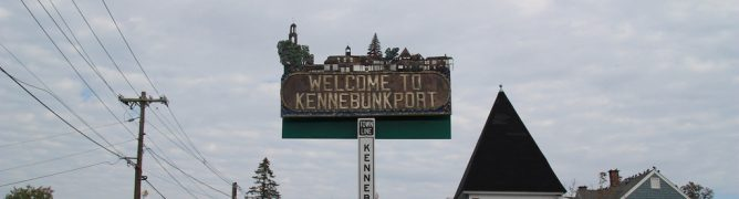 Kennebunkport Maine Sign